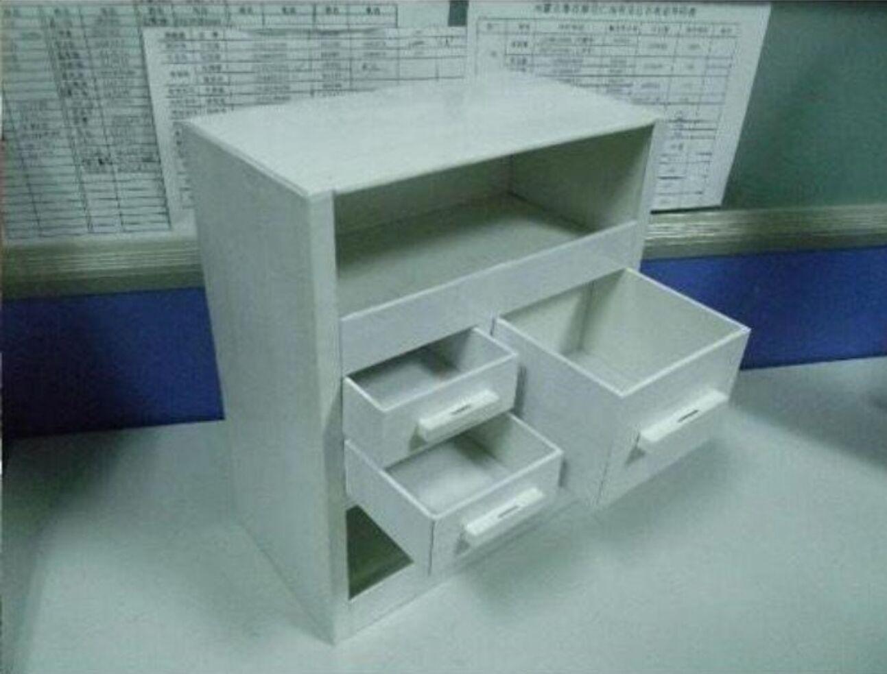 自制DIY实用多功能储物柜 家居收纳厨房收纳家庭