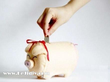 小猪存钱罐的制作方法图解 -  www.shenghuoping.com