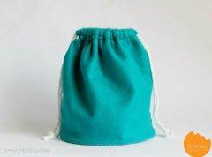 <b>速成简单束口袋布袋布艺手工制作教程</b>