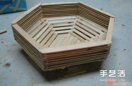 简单的儿童雪糕棍废物利用手工小制作 -  www.shenghuoping.com
