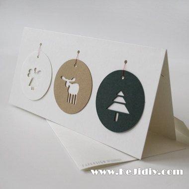简单的圣诞贺卡图片大全 -  www.shenghuoping.com