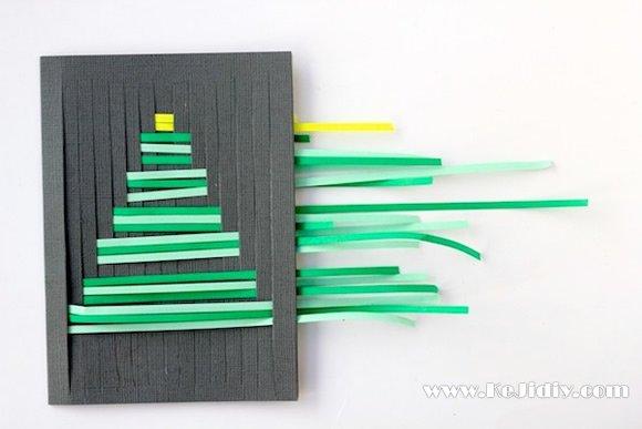 简单的圣诞贺卡图片大全 -