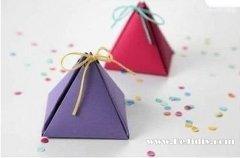 自制结婚喜糖盒 制作糖果盒子的方法图解
