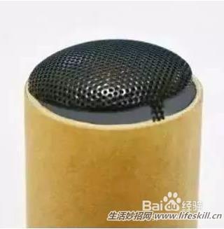 巧用纸筒制作小音箱