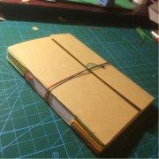 轻便小巧DIY线装笔记本小本子制作教程