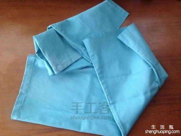 牛仔裤管改胸包 第6步