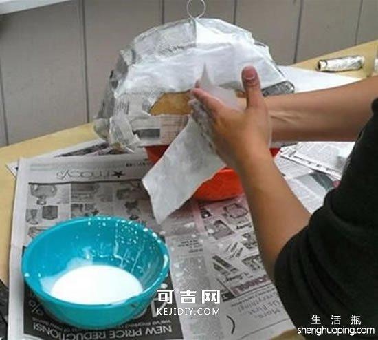 废纸箱做露营车玩具的方法 -  www.kejidiy.com