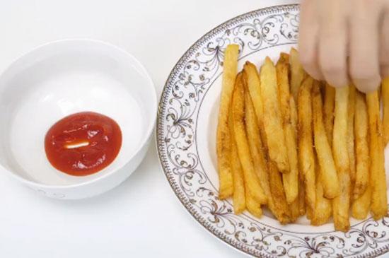 炸薯条怎么做才又香又脆的家常做法即薯条的制作方法
