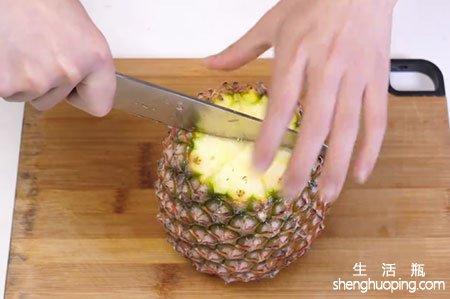 菠萝怎么削皮
